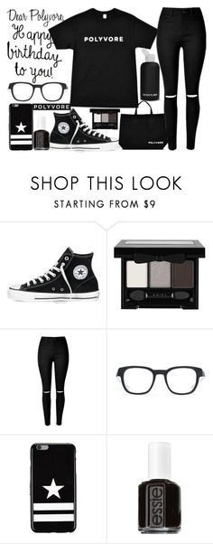 """""""happy birthday polyvore"""" by j-n-a ❤ liked on Polyvore featuring Converse, NYX, bkr, Oakley, Givenchy, Essie, women's clothing, women, female and woman"""