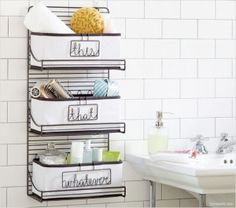 If you share one sink with your partner, you know how vital it is to keep things organized and out of the way. If you struggle with keeping things contained in your bathroom, here are some great tips.