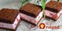 A to je najbitnije! Slovak Recipes, Czech Recipes, Russian Recipes, Cake Bars, Dessert Bars, Dessert Recipes, Kolaci I Torte, Romanian Food, Wedding Desserts