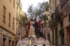 Nuestro Padre Jesús del Prendimiento y María Santísima del Gran Perdón en la Semana Santa de Málaga. ES