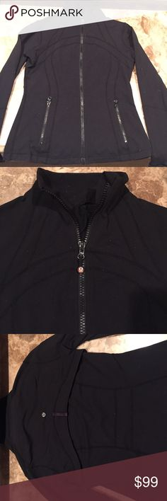 Lululemon Define Jacket Lululemon Define Jacket. All black. Zip up with front zip pockets. Size 8 lululemon athletica Jackets & Coats