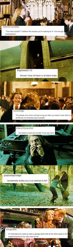 Harry Potter + text post