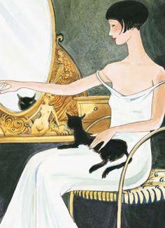 Phryne, le chat noir