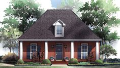 Expansive Great Room Design - 51022MM | 1st Floor Master Suite, CAD Available, Corner Lot, Cottage, Narrow Lot, PDF, Southern, USDA Approved | Architectural Designs