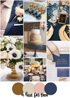 Navy And Rose Gold Wedding Color Schemes - Navy And Rose Gold Wedding Color Schemes – gold champagne blush and navy elegant wedding colour s - Elegant Wedding Colors, Gold Wedding Colors, Wedding Color Schemes, Colour Schemes, Color Palettes, Wedding Colour Palettes, Champagne Wedding Colors Scheme, Color Combinations, Before Wedding
