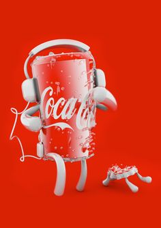 Coca Cola Characters on Character Design Served