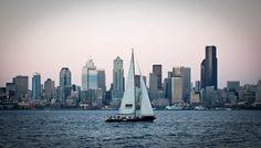 Sailing Puget Sound, Washington - Dmitrii Lezine