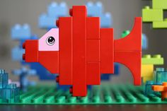Close Up of Duplo Fish