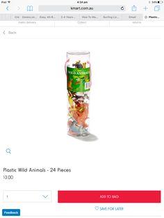 24 piece animal pack $3 Kmart