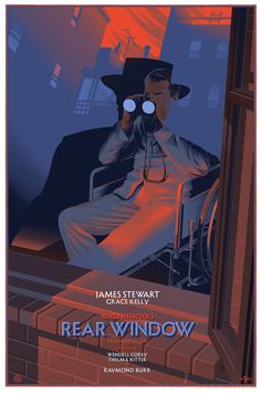 durieux movie poster - rear window