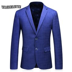 This item is HOT! Royal Blue Mens B... click 2 order  http://i-saledresses.myshopify.com/products/royal-blue-mens-blazers-new-arrivals-2017-plaid-party-wear-dresses-skinny-classic-vintage-suits-jacket-men-casual-blazer-m-3xl?utm_campaign=social_autopilot&utm_source=pin&utm_medium=pin   We Ship Internationally!