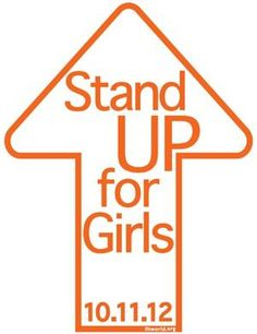 Stand Up for Girls Event. New York, NY. Thursday, October 11, 2012.