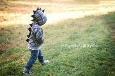 Kinder Dinosaurier Hoodie von SwankyPankyDesigns auf Etsy