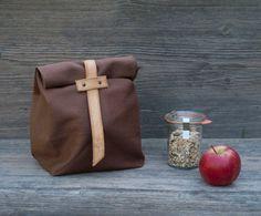 The Z'nuni Lunch bag by Birchandbike on Etsy