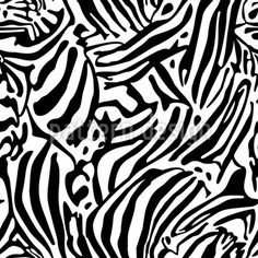 Animals Skin Design Pattern by Christa Maria Nienhaus at patterndesigns.com Vector Pattern, Pattern Design, Animal Print Rug, Your Design, Print Patterns, Black And White, Animals, Animales, Black N White