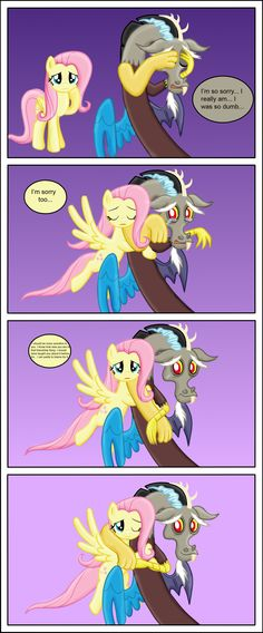 Fluttercord -reconciliation by Fluttershy626.deviantart.com on @DeviantArt <<< This effects my feels