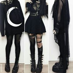 Gothic Outfit Ideas Picture gothic fashion ideas for those people that get pleasure Gothic Outfit Ideas. Here is Gothic Outfit Ideas Picture for you. Gothic Outfit Ideas summer goth gothic and amazing. Pastel Goth Outfits, Punk Outfits, Gothic Outfits, Mode Outfits, Grunge Outfits, Pastel Goth Clothes, Cute Goth Outfits, Pastel Goth Hair, Emo Outfits