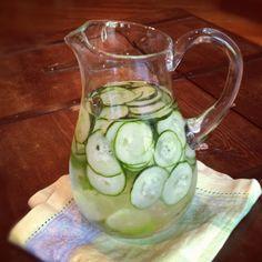 Cucumber mint & lime