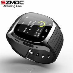 Smart Watch Hot Bluetooth wristwatch smartwatch with Dial SMS Remind Music Player Pedometer for Android Samsung Smartphones - Good Spark Shop Good Spark Shop Watch For Iphone, Android Watch, Bluetooth Watch Android, Android 4, Sport Watches, Cool Watches, Watches For Men, Wrist Watches, Unusual Watches