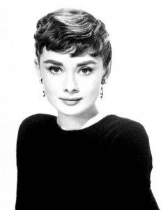 Audrey Hepburn Black and White Picture