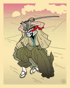 Samurai, Illustrations, Photo And Video, Fictional Characters, Instagram, Art, Art Background, Illustration, Kunst