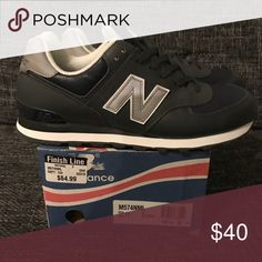 outlet store 5d32a 40f61 Vintage New Balance 574 size 11 Grey Blue New balance worn, purchase way  back.maybe 1999 or early New Balance Shoes Sneakers