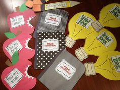 Back to school crafts/pennant for first two weeks! Each craft explains an expectation for learning. Teaching with props! Classroom Crafts, Future Classroom, School Classroom, Classroom Organization, Classroom Ideas, Classroom Management, Too Cool For School, School Fun, School Days