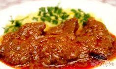 sm - hovädzie mäso v marináde No Salt Recipes, Cooking Recipes, Good Food, Yummy Food, Czech Recipes, Hungarian Recipes, Food 52, What To Cook, I Foods