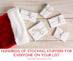 Hundreds of Stocking Stuffers for Everyone on Your List