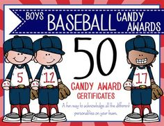 50 baseball award certificate templates put a smile on a players baseball boys candy award certificates editable ms power point toneelgroepblik Image collections