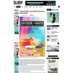 "Portuguese Magazine Surf Portugal featuring ""Outside into Inside"" group show at Surf Leça. Follow us on instagram : surf_leca . #SurfLeça #ArtGallery #SurfArtGallery #GaleriaSurfLeça #LeçaDaPalmeira #Portugal #GroupShow #ArtExhibition #SurfArt #BodyboardArt #SkateArt #StreetArt #YogaArt #SurfPortugal #Site #PortugueseMagazine"