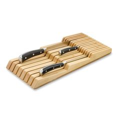 Williams-Sonoma In-Drawer 15-Slot Knife Organizer | Williams-Sonoma