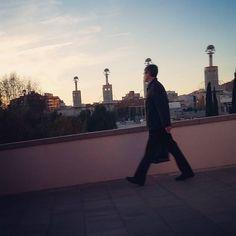 #falling #winter #Barcelona #sunset #sky #espanyaindustrial #sants