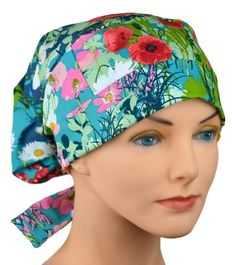 The Hat Cottage Womens Surgical Scrub Hats, Adjustable Medium to Large (Lavish) Buy Scrubs, Scrub Caps, Fashion Face Mask, Head Wraps, Hats For Women, Fashion Brands, Going Out, Perfect Fit, Classy