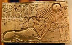 Aquarius and Leo – The Capital of the Sun God Aten: on the astrogeographical position of Amarna the city built by Pharao Akhenaten as the rebel capital new to replace the ancient egyptian gods. Ancient Egyptian Art, Ancient Aliens, Ancient History, Sphinx, Sun Worship, Ancient Artifacts, Ancient Civilizations, Gods And Goddesses, Archaeology