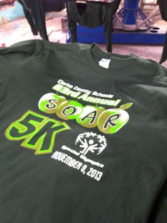 Clarke County SOAR  Special Olympics 23 annual 5K. 2013