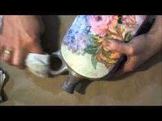 (43) SZALVÉTA FELRAGASZTÁSA RÁNCMENTESEN - 3. RÉSZ - YouTube Diy Videos, Diy Tutorial, Techno, Decoupage, Stencils, Free Tutorials, Handmade, Mix Media, Blog