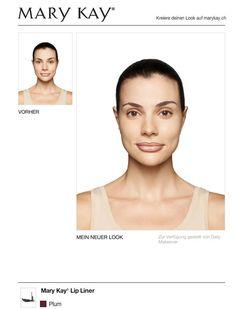Schau dir meinen neuen Look an, den ich mit dem KOSTENLOSEN Mary Kay® Virtual Makeover kreiert habe. Probiere es selbst und teile es mit deinen Freunden!