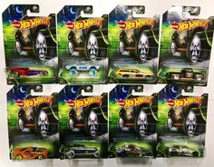 Hot Wheels 2017 Halloween Set Of 8 , '49 Ford F1