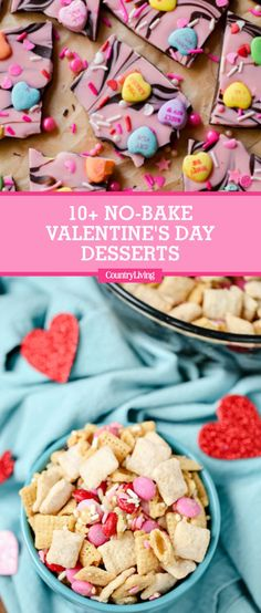 Save these Valentine's Day no-bake dessertsfor later by pinning this image, and follow Country Living on Pinterest for more holiday inspiration.