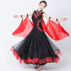 Cheap dresses animation, Buy Quality dresses dubai directly from China dress sarah Suppliers: Big Wing Ballroom Dance Competition Dresses for Women Jazz/tango/waltz Dance Dress for Performance Skating Dress Competition 89 Ballroom Dresses For Sale, Dance Wear, Waltz Dance, Tango, Skating Dresses, Jazz, Cheap Dresses, Ballet Skirt, Modern Dance