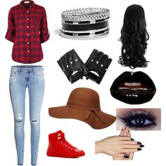 MARCELINE IRL by angellunawing on Polyvore featuring polyvore fashion style H&M ALDO GUESS Dorothy Perkins Static Nails