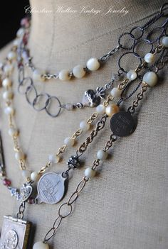 "Christine Wallace... ""Honoring Life Through Jewelry"": Lovely Layers..."