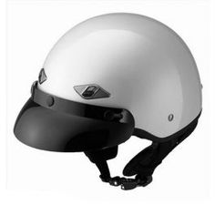 Capacete Old School Pearl White LS2 HH568