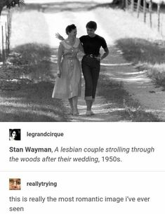 FAKE: That this is a lesbian couple after their wedding. FACT: The real name of the photo is Wedding of Starlet Andra Martin. She married three times, to men, the first of which was despite the studio's fury. The older woman in the photo is reportedly her Gay Couple, Lgbt Memes, Funny Gay Memes, Post Mortem, Faith In Humanity Restored, Cute Gay, Overwatch, My Guy, Gay Pride