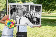 Wedding party frame. Party Frame, Wedding Photos, Polaroid Film, Weddings, Marriage Pictures, Wedding, Wedding Pictures, Marriage, Mariage