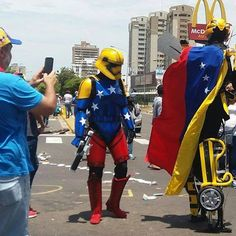 EL CHISTE DE LA SEMANA  De Pedro Bonito  Las protestas en Venezuela son de caracter INTERGALACTICO¡¡¡¡