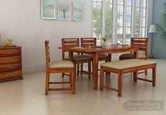 Something Innovative, Something Quirky !! Advin #Extendable 6 seater #dining which serves dual purpose , space saving and Dining.  Made from High Quality #Sheesham Wood and crowned with honey finish.  #diningroom #sixseater #diningfurniture #homefurniture #solidwoodfurniture  See it yourself: https://goo.gl/HTLbMH