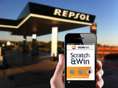 Scratch and win sweepstake Campaing