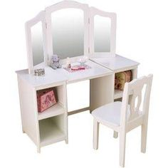 2-Piece Kids Vanity Set